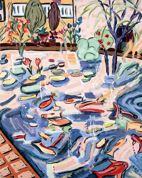 Bright Gardens of Fish II