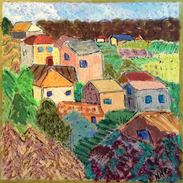 Houses in the Luberon