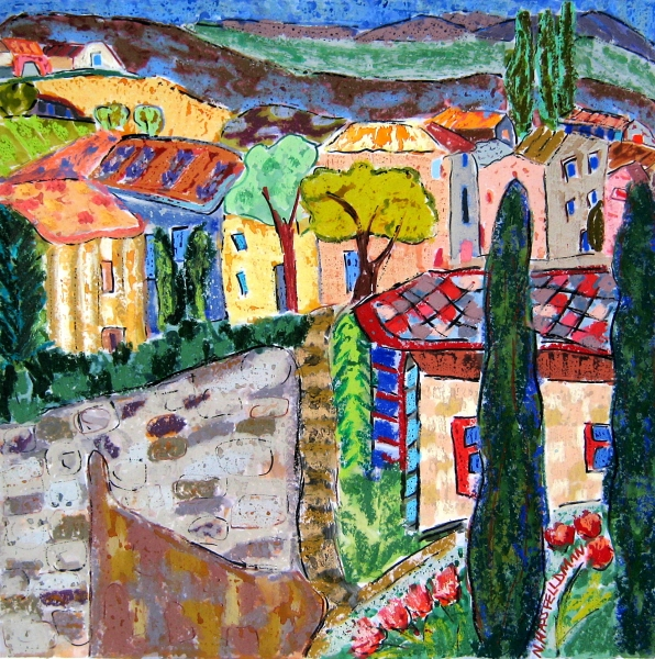 Lovely Village in the Luberon