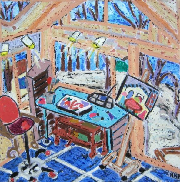 Studio in Winter