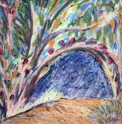 The Arch Through the Tree