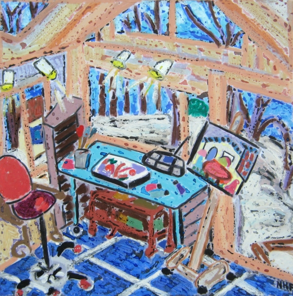 Studio in Winter