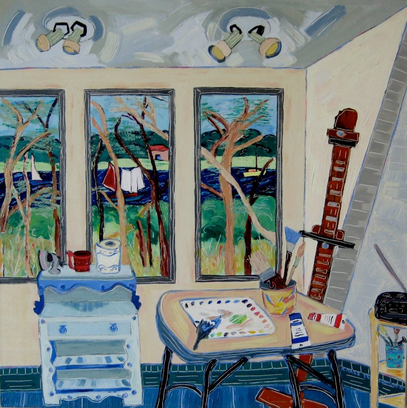 Studio View Towards the Marsh